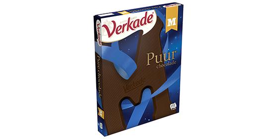 Verkade Chocoladeletter Puur 200g