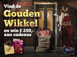 Vind de gouden wikkel en win 250 euro aan cadeaus