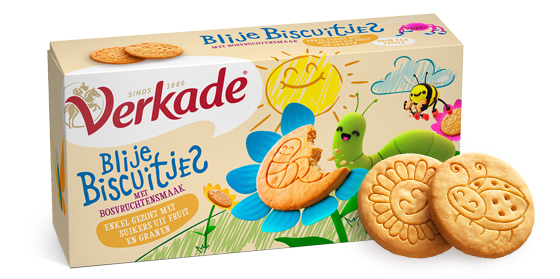 Verkade Blije Biscuitjes