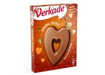 Verkade karamel zeezout chocoladehart