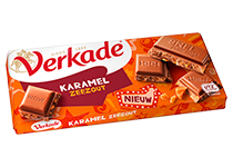 Verkade Karamel Zeezout Chocolade
